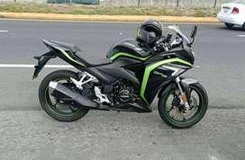 Vendo moto loncin 250, año 2017