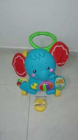 Caminador para Bebé tipo elefante.