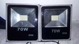 Vendo  reflectores 70w , IP 66