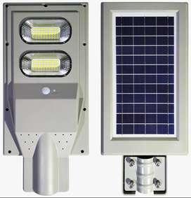 Lampara Para Exterior Solar Led De 60w