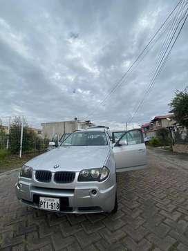 VENDO BMW X3 3.0I 2006