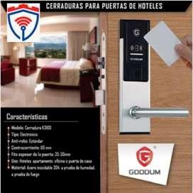 Cerraduras para Hoteles con tarjeta de proximidad