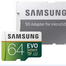 Memoria Micro Sd 64gb Samsung Clase 10