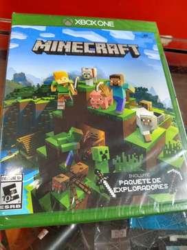 Minecraft Xbox One Xone Nuevo sellado