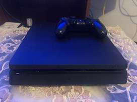 PS4 slim 500gb + control