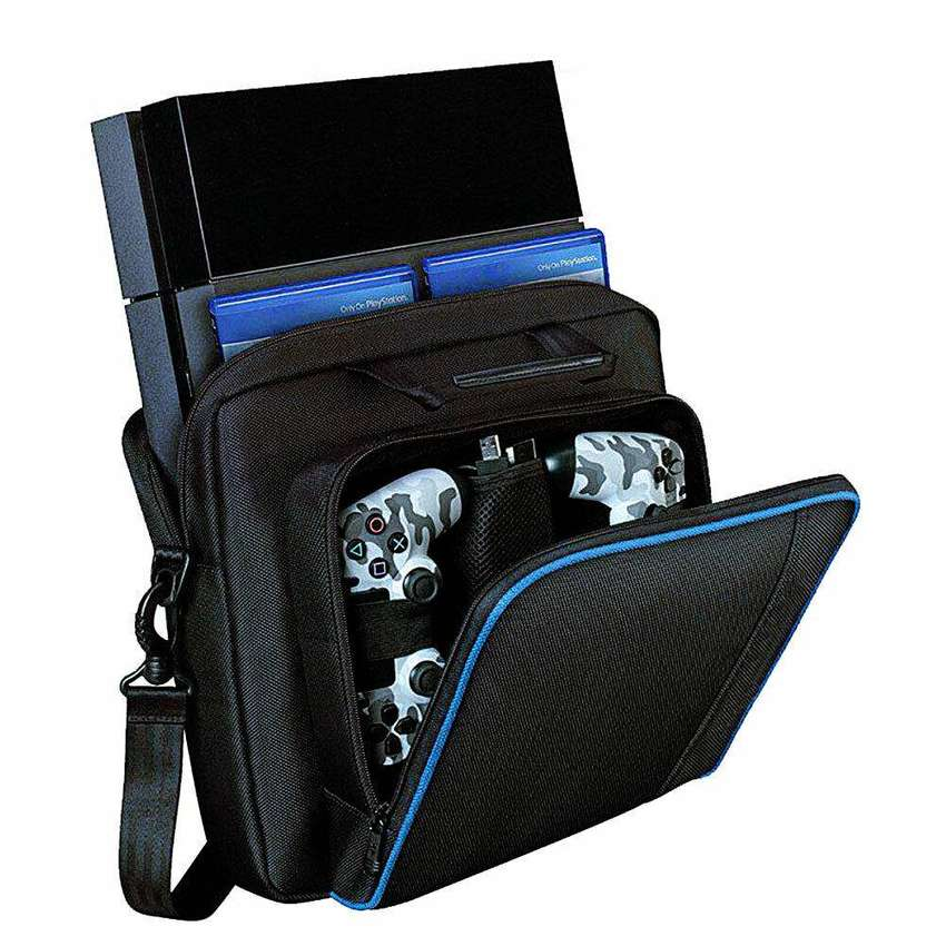 Maletin Bolso Para La Consola Play Station 4 Ps4 Ps4 Slim