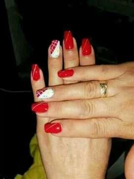 manicure y pedicure a domicilio sólo Girón