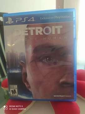 Detroit usado play 4