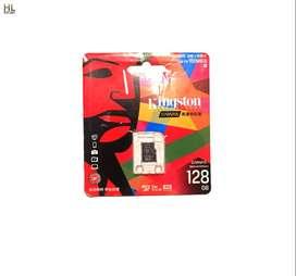 memoria micro sd 128 gb clase 10 compatible camaras consolas de videojuegos, celulares
