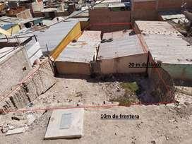 terreno en el ppjj El Siglo mz: H lt: 16 - Moquegua