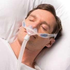 Mascara nasal Philips nuance para maquina CPAP apnea del sueno.
