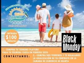 Tu Lote En Puerto Cayo A 4 Minutos De La Playa - Sin Garantes SD2