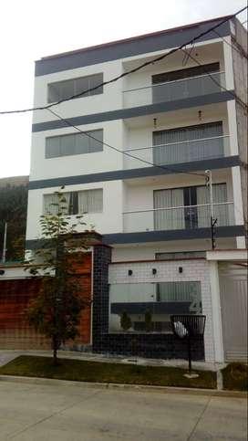 Hermoso y amplio departamento 2do piso, en condominio cerrado Urb Alto La Merced Huancayo