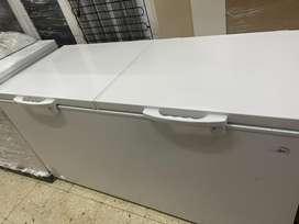 Congelador kalley 536 litros nuevo de exhbicion