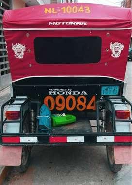 Mototaxi Honda Mavila. en buen estado, se vende o se alquila.