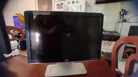 Monitor tv HP de 19 pulgadas