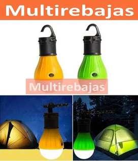 Lámpara Led Para Tienda De Campaña O Camping