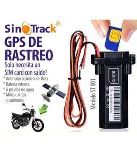 Gps Sinotrack Para Autos Y Motos Rastreo Gratis-sin Mensualidad