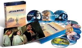 Vendo La Saga de Star Wars en Bluray