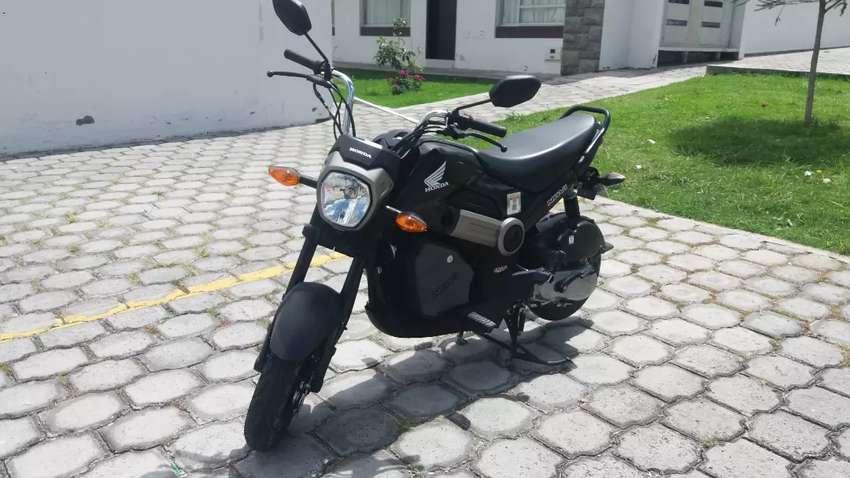 Se vende flamante moto honda navi como nueva a toda prueva 0