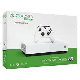 Xbox One series S 1 Tera 1 Control + 2 juegos