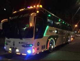 Bus de Turismo para toda colombia de 40 pasajeros