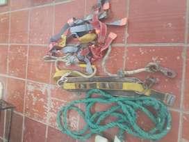 Arns para construccion correas para   subir postasTel3218067957NOE
