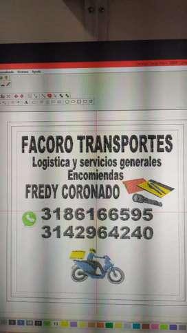 Distribuciones facoro logistica y ser generales domicbilios