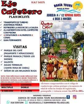 TOUR SEMANA SANTA EN EL EJE CAFETERO