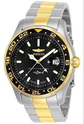 Reloj Hombre Invicta Pro Diver Master Suizo Gmt 25825