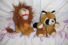 Combo peluche león y osito ideal dia de la niñez