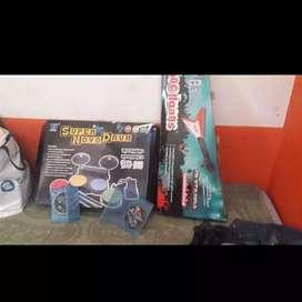 Batería de ps2/ps3 guitarra ps2 y juegos de ps3