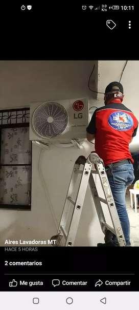 Servicio técnico aires ac instalaciones reparaciones
