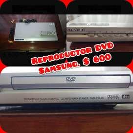 Vendo Dvd con Control Remoto, Funciona