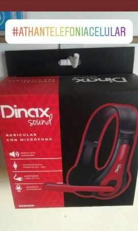 Auriculares Gamer Dinax Pc/PS4