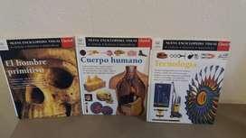 Libros Nueva Enciclopedia Visual Clarin - X 3 Tomos!