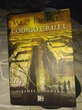 MAZE RUNNER CODIGO C.R.U.EL