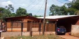 Vendo/Permutos casa  en iguazu por chacra en Irigoyen
