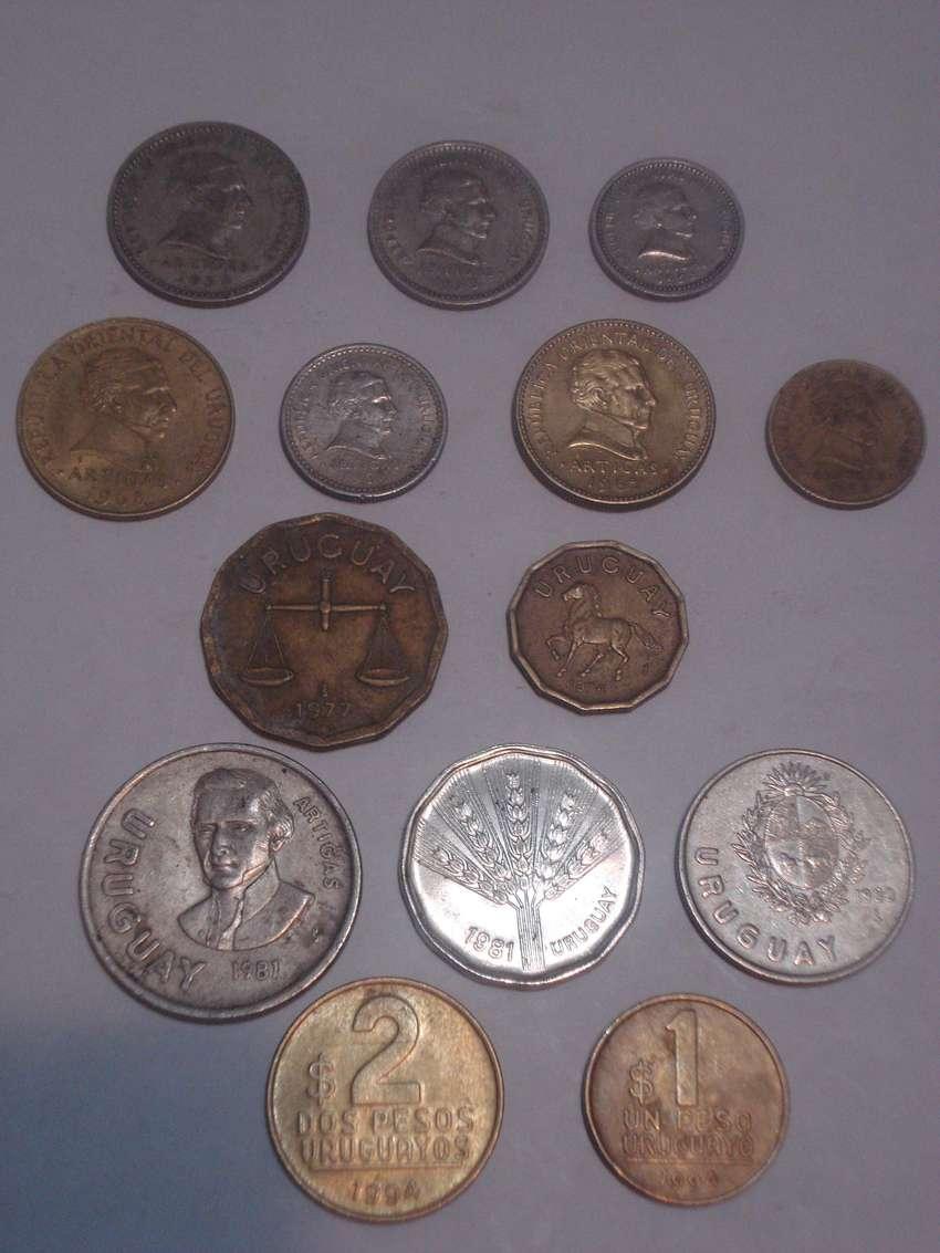 coleccion monedas de uruguay x14u. 0