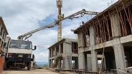 Alquiler de bomba de concreto y mixer