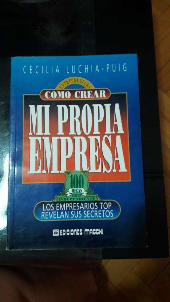 Libro Crear Mi Propia Empresa 0