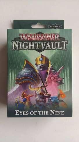 Vendo Warhammer underwords eyes of they nine.