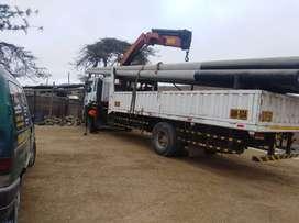 sevicio de   camion grua articulado a nivel nacional