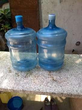 Vendo dos bidones de agua