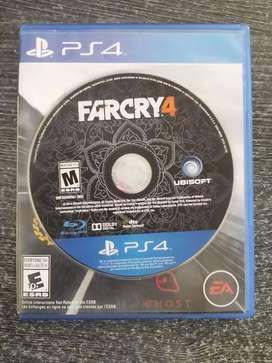 Vendo vídeo juegos ps4
