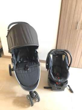 Coche y silla para bebe