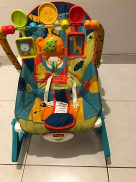 Silla fisher price mecedora