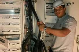 Electricista 24hs. Servicio tecnico refrigeracion. Pintura.