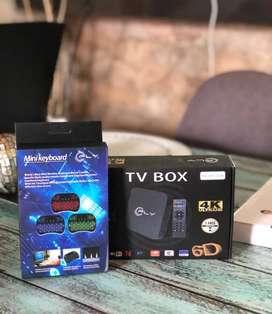 SUPER PROMO!  CONVERTIDOR A ESMART TV, CON 2 DE RAM Y 16GB MAS TECLADO SMART, domicilio gratis