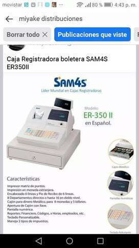Caja registradora SAM 4S mod. 350